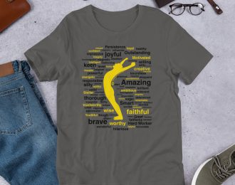 Words Around You Short-Sleeve Unisex T-Shirt